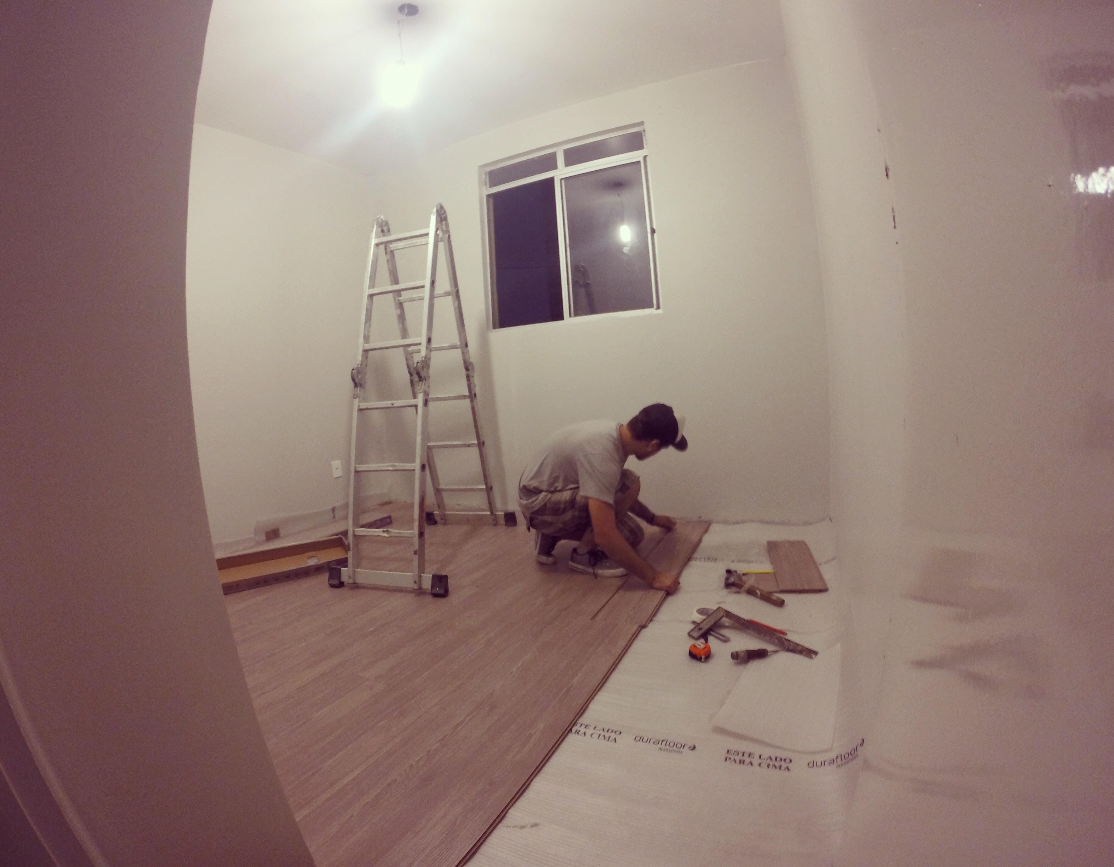 Meu piso laminado escolha e instala o de ap novo for Piso xose novo freire