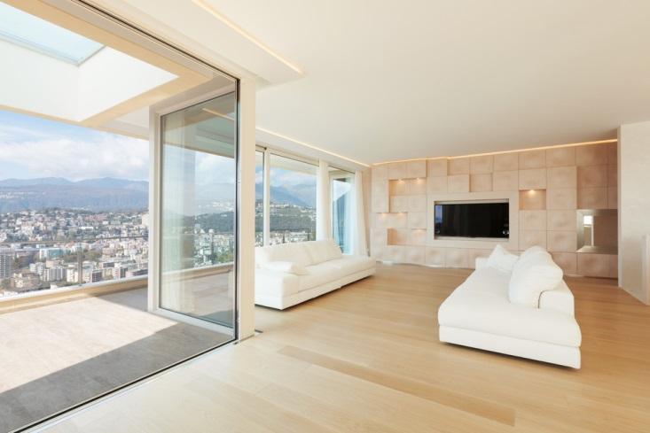 Minimalismo em casa de ap novo for Sala casa minimalista