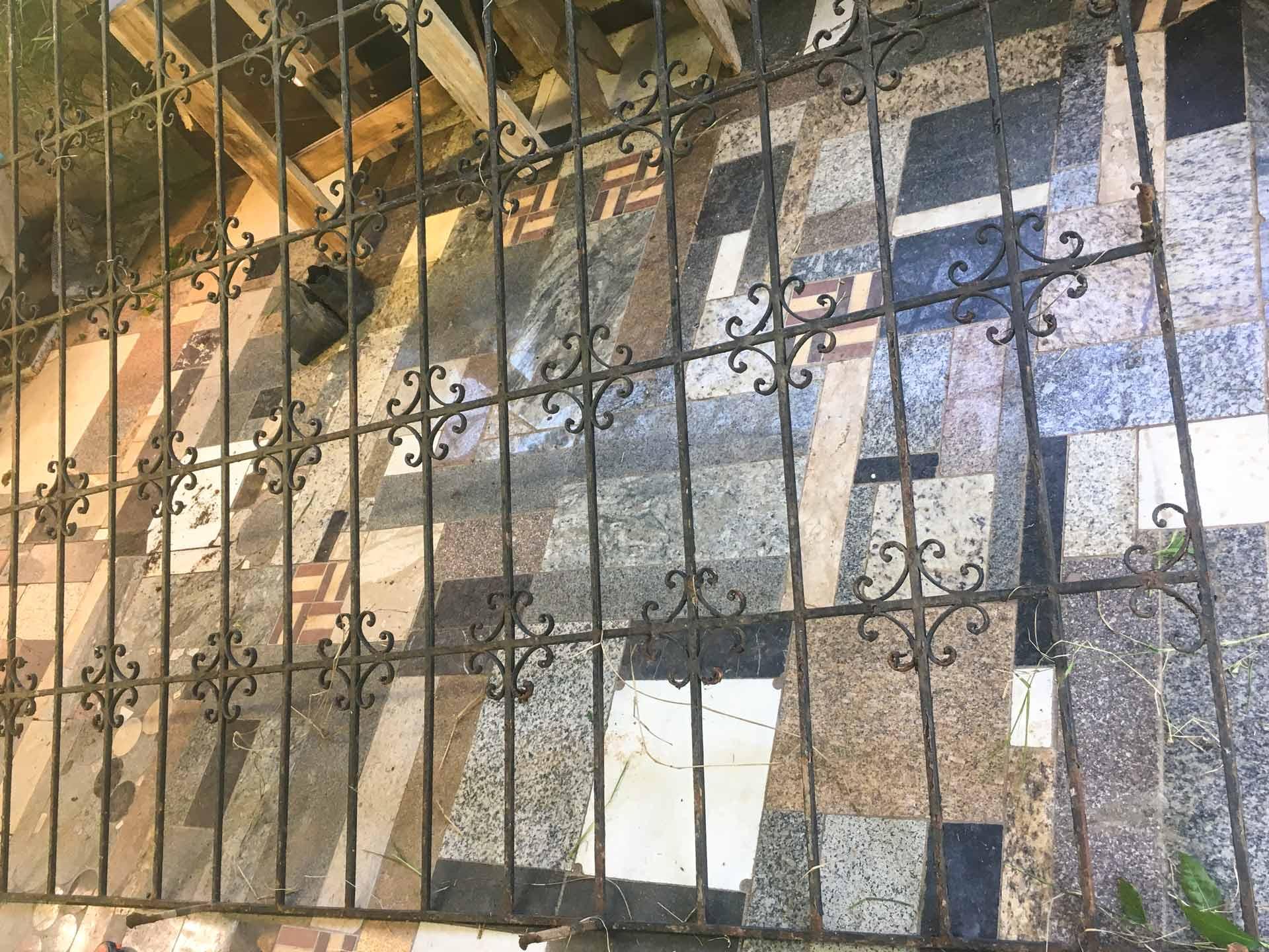 cabeceira de ferro diy faca voce mesmo pintura grade de janela